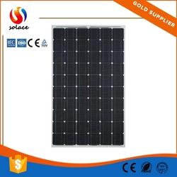 best price mini solar panel 12v 130w