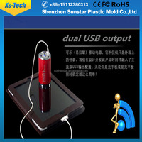 Portable solar universal power bank charger ac power adapter charger