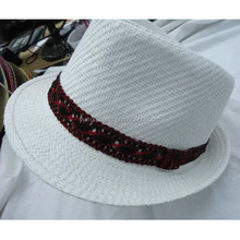 wholesale fedora straw hat(HT-1503240005)