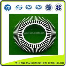 high quality Aluminum extrusion profile circular heat sink profile