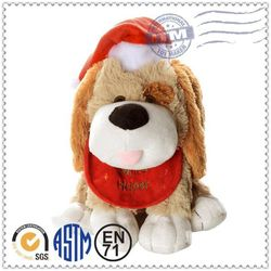 2015 promotion gift plush toy free sample golden retriever soft toy
