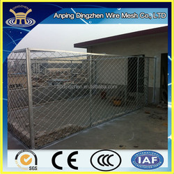 Durable Iron fence dog kennel for sale