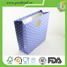 paper hand bag for christmas gift
