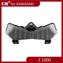For Kawasaki Z750 Z1000 clear lens with signal motorcycle led tail lights