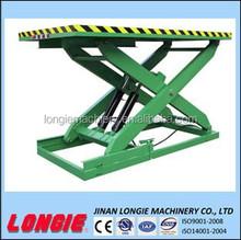 Lisjg2.0- 1,6 idraulico pesanti scissor la tabella di elevatore