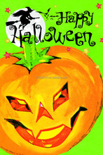 2015 new Halloween decoration 12x18 sublimated garden flags