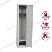 Top Sale Single Door Design Metal Wardrobe Closet Cabinet