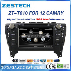 Luxury 2 Din Car DVD Player for Toyota Camry 2012 with GPS, DVB-T
