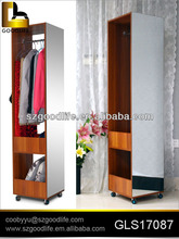Fashion wardrobes with mirror panel furniture bedroom
