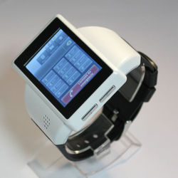 Latestt wrist Android smart watch mobile phone with Android 2.2 OS, WIFI, GPS, /Smart watch, smart watch phone