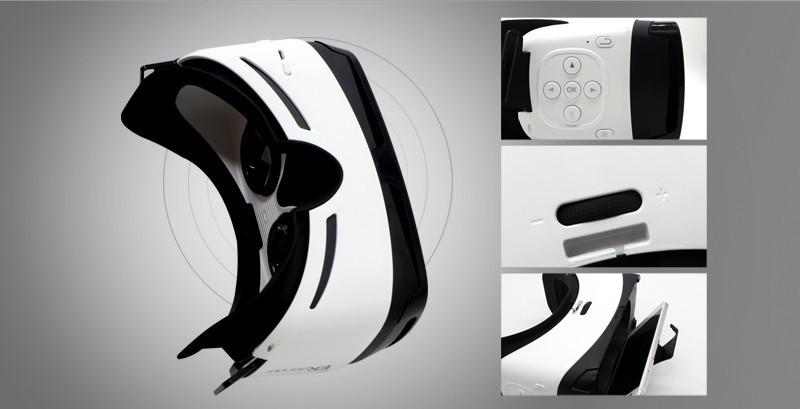 2017 trending produtos amazon top vender vr fone de ouvido, caixa de óculos de realidade virtual de fone de ouvido Bluetooth 3d vr, óculos 3d VR engrenagem para ps4