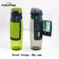 New customize detox bottle, sport gym water bottle, flair plastic bottle bpa free