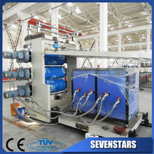 PVC man-made marble panel extrusion line/man-made pvc marble panel plant/man-made marble panel machine