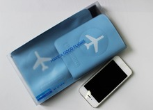 Cheap plastic wallet pvc passport ticket holder wholesale