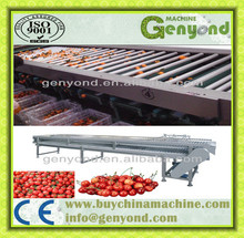 BEST SELLING FACTORY OUTLET FRUIT/VEGETABLE GRADING MACHINE