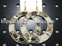 gold jewelry of earring