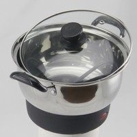 20cm stainless steel Dry burning-resistant protection electric pot