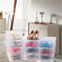 No1 shenzhen factory of clear hard plastic shoe box