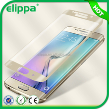 2015 New product! HD Clear 2.5D Round Edge For Samsung S6 Plus Glass Screen Protector