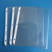 Letter size Glass Clear Heavy Duty Sheet Protector