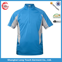 High quality wicking finish dry fit polo shirt