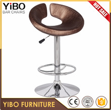 metal club use commercial adjustable modern style bar stool high chair bar furniture reliable quality
