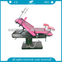 CE&ISO approved AG-C200A Multifunction Electric gynecological examination table
