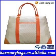 Popular style double color 1680D custom big travel bag