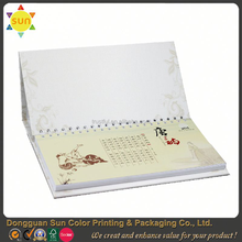 mini paper calendars/calendars print factory/shenzhen calendars print factory