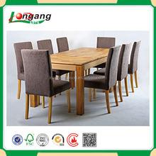 classical design 8 seat wood dining room set