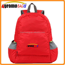Foldable cut ravel leisure backpack