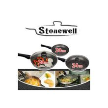 nonstick marble coating frying pan high quality frying pan cookware set