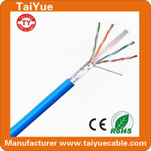 Pass Fluke Test high speed 4p full copper FTP Cat6 Cable