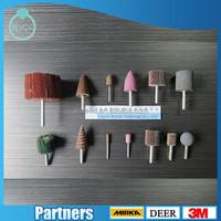 abrasive pellet sanding head Polish