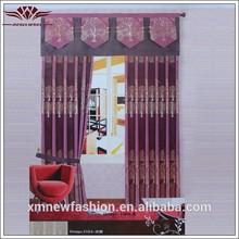 Modelos de saias de cortina, tecido de moda atacado, luxo sala cortinas