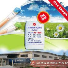 2015hot venta dióxido de titanio (rutilo) para la pintura