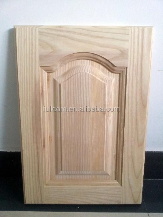 Frêne blanc armoires de cuisine porte en bois-Armoire de cuisine ...