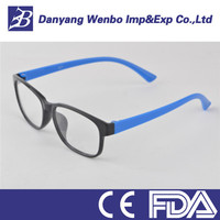 Funny color half lens cheap reading glasses