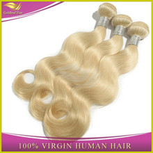 2014hot sale fashion Alibaba china fast delivery direct buy china 100%unprocessed blonde brazilian hair weft