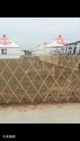 FD-157221Expanding folding bamboo garden trellis lattice fence