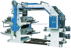 Yunfeng brand Four Color plastic bag flexo printing machine