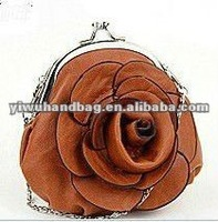 Design PU Rose Coin Purse