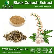 Food Grade Black Cohosh P E/Pure Black Cohosh Extract/Black Cohosh Root Powder