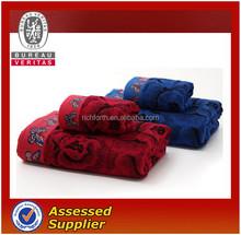 jacquard big bath towel,bamboo microfiber material,can do customizied jacquard pattern
