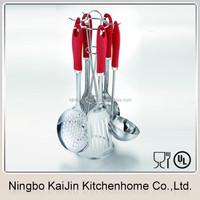KJ-MP655 colorful stainless steel kitchen tool utensil set
