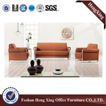 Good weight capacity high density modern leather sofa set HX-S3084