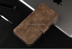 Vintage leather case for iphone 6 black shockproof, shockproof leather case for iphone 6 HH-CPI6014(12)