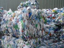 HDPE scrap bales, Bottles scrap in bales post consumer, PP, PET, PLASTIC BULK BUY