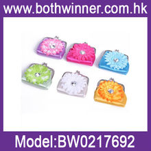 Flower promotional cloth coin purse coin bag