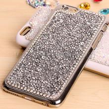 luxury bling crystal full diamond back cover case for iPhone 6